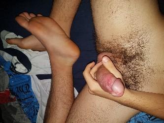 Porno amatoriale Da solo nel letto